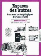 Couverture du livre « Espaces des autres » de Robin Christelle aux éditions La Villette