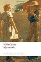 Couverture du livre « My Antonia » de Willa Cather aux éditions Oxford University Press
