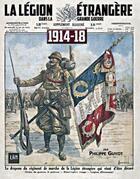 Couverture du livre « La Légion étrangère dans la grande guerre » de Philippe Guyot aux éditions Lbm