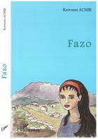 Couverture du livre « Fazo » de Kerroum Achir aux éditions L'harmattan