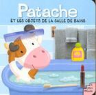 Couverture du livre « Dans La Salle De Bain » de Caillou aux éditions Petit Musc