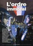 Couverture du livre « L'ordre immoral » de Collectif aux éditions Contretemps