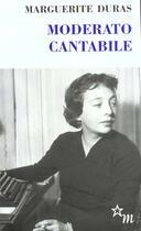 Couverture du livre « Moderato cantabile » de Marguerite Duras aux éditions Minuit