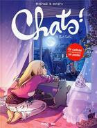 Couverture du livre « Chats ! T.4 ; chats touille » de Brremaud et Paola Antista aux éditions Hugo Bd
