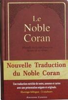 Couverture du livre « Le Noble Coran (4e édition) » de Mohammed Chiadmi et Ahmed Mikhtar aux éditions Tawhid