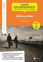 Couverture du livre « Of mice and men ; 1re (édition 2020) » de John Steinbeck et Corinne Escales et Kelly Morckel aux éditions Nathan
