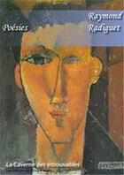 Couverture du livre « Poésies » de Raymond Radiguet aux éditions Editions Du Cenacle