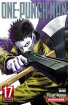 Couverture du livre « One-Punch Man T.17 » de Yusuke Murata et One aux éditions Kurokawa