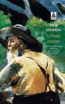 Couverture du livre « La peste écarlate » de Jack London aux éditions Actes Sud