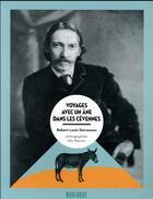 Couverture du livre « Voyages avec un âne dans les Cévennes » de Robert Louis Stevenson et Nils Warolin aux éditions Rouergue