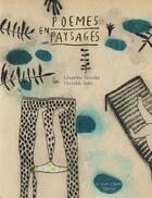 Couverture du livre « Poèmes en paysages » de Geraldine Heredia et Clotilde Staes aux éditions Le Port A Jauni