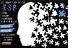 Couverture du livre « Le coffret des cartes e.s.p. ; extra sensory prediction » de Sam Dalal aux éditions Fantaisium