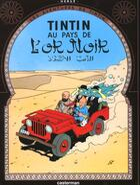 Couverture du livre « Les aventures de Tintin T.15 ; au pays de l'or noir » de Herge aux éditions Casterman