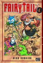 Couverture du livre « Fairy Tail T.1 » de Hiro Mashima aux éditions Pika