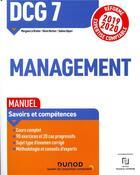 Couverture du livre « DCG 7 ; management ; manuel (édition 2019/2020) » de Sabine Separi et Kevin Herlem et Morgane Le Breton aux éditions Dunod