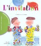 Couverture du livre « L'Invitation » de Pilar Ramos et Maria Teresa Ramos aux éditions Les Deux Souris
