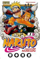 Couverture du livre « Naruto T.1 » de Masashi Kishimoto aux éditions Kana