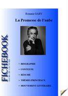 Couverture du livre « La promesse de l'aube ; fiche de lecture » de Romain Gary aux éditions Editions Du Cenacle