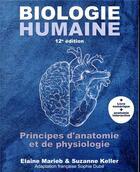 Couverture du livre « Biologie humaine (12e édition) » de Elaine N. Marieb aux éditions Renouveau Pedagogique