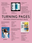 Couverture du livre « Turning Pages Editorial Design For Print Media /Anglais » de Klanten/Ehmann aux éditions Dgv