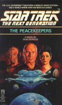 Couverture du livre « The Peacekeepers » de Deweese Gene aux éditions Pocket Books Star Trek