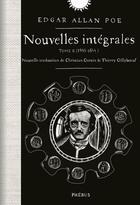 Couverture du livre « Nouvelles intégrales t.2 (1840-1844) » de Edgar Allan Poe aux éditions Phebus