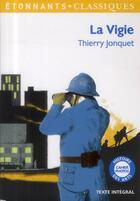 Couverture du livre « La vigie » de Thierry Jonquet aux éditions Flammarion