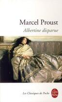 Couverture du livre « Albertine disparue » de Marcel Proust aux éditions Lgf