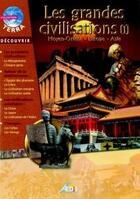 Couverture du livre « Les grandes civilisations ; Moyen Orient, Europe, Asie » de Collectif aux éditions Aedis