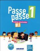 Couverture du livre « Passe-passe niv.1 - cahier + cd » de Catherine Adam aux éditions Didier