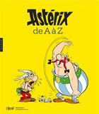 Couverture du livre « Astérix de A à Z » de Collectif aux éditions Hazan