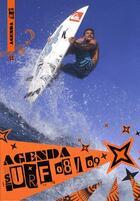 Couverture du livre « Agenda surf (2008-2009) » de Aquashots aux éditions Surf Session