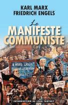 Couverture du livre « Le manifeste communiste » de Karl Marx et Friedrich Engels aux éditions Pathfinder