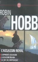 Couverture du livre « L'assassin royal ; coffret t.1 à t.3 » de Robin Hobb aux éditions J'ai Lu