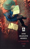 Couverture du livre « Le portefeuille rouge » de Anne Delaflotte Mehdevi aux éditions Actes Sud
