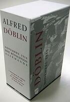 Couverture du livre « Novembre 1918 » de Alfred Doblin aux éditions Agone