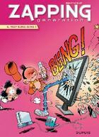 Couverture du livre « Zapping génération t.4 ; trop bling bling ! » de Serge Ernst et Noblet aux éditions Dupuis