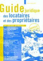Couverture du livre « Guide des locataires et proprietaires » de Eric Haumont aux éditions Seconde Edition