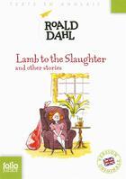 Couverture du livre « Lamb to the slaughter and other stories » de Roald Dahl aux éditions Gallimard-jeunesse