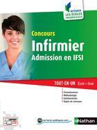 Couverture du livre « Concours d'entrée infirmier ; IFSI (édition 2016) » de Annie Godrie aux éditions Nathan