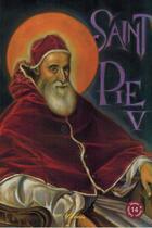 Couverture du livre « Saint Pie V » de Guy Lehideux aux éditions Clovis