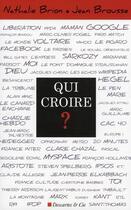 Couverture du livre « Blogs bravo ; l'opinion existe » de Jean Brousse et Nathalie Brion aux éditions Descartes & Cie