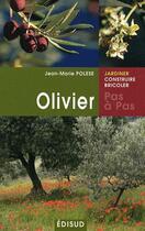 Couverture du livre « Olivier » de Jean-Marie Polese aux éditions Edisud