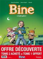 Couverture du livre « Bine T.2 ; quelle galère ! » de Daniel Brouillette et Steven Dupre et Didier Alcante aux éditions Kennes Editions