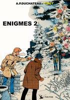 Couverture du livre « Ric Hochet HORS-SERIE ; énigmes t.2 » de Tibet et Andre-Paul Duchateau aux éditions Pan Pan