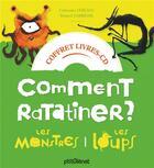Couverture du livre « Coffret comment ratatiner les monstres et les loups - livre cd » de Catherine Leblanc aux éditions Glenat Jeunesse