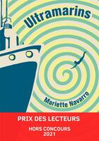 Couverture du livre « Ultramarins » de Mariette Navarro aux éditions Quidam