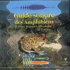 Couverture du livre « Guide sonore des amphibiens de France, Belgique et Luxembourg » de Collectif aux éditions Biotope