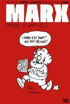 Couverture du livre « Marx (mode d'emploi) » de Bensaid/Charb aux éditions Zones