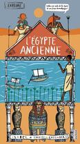 Couverture du livre « Explore l'Egypte ancienne » de Isabel Greenberg et Imogen Greenberg aux éditions La Martiniere Jeunesse